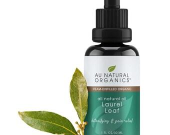 Laurus nobilis, Laurel Leaf Oil, Pure Essential Oil, Bay Laurel Oil, Aromatherapy Oil, Soapmaking Oil, Candle Making Oil 1 oz (30 ml)