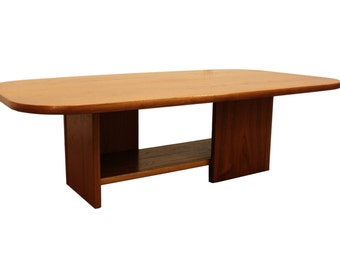 Mid-Century Danish Modern Teak 2-Tier Mobler Coffee Table