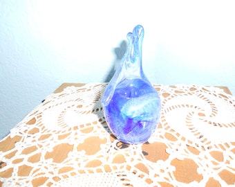 Art Glass Candle Holder