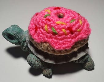 Frosted Doughnut Costume for Turtles/ Tortoises