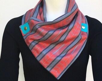 Modern bandana style scarf