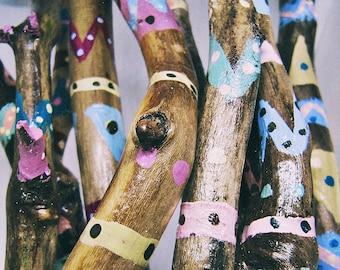 DIY Driftwood Decor - Hand Painted Sticks Set - Branches Vase Filler - Wholesale - Boho Decoration - Custom Design - Wedding Favor