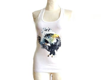 GIVENCHY / Vintage tank top / eagle top / Size S