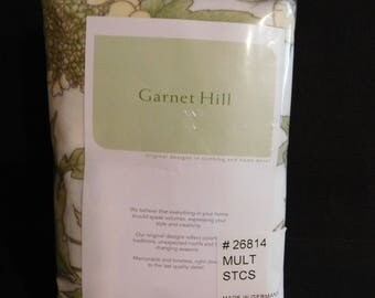 Garnet Hill Made in Germany #26814 Mult/ STCS Flannel