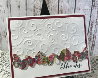 Thanks - Handmade Card