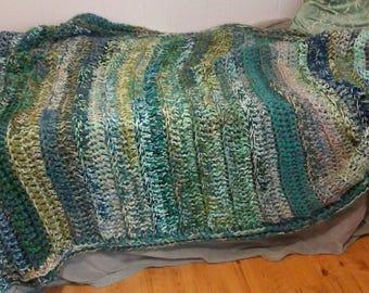 Sea Foam Blanket Etsy