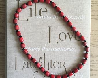 Elegua Inspired Necklace