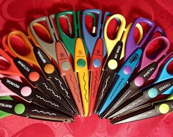 Decorative Scissors(1) - Edging Scissors - Lot of 12