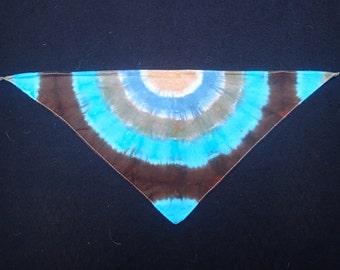 Tie-Dyed Doggie Bandana - Small