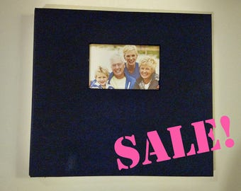 Navy Photo Booth Guest Book Album (ON SALE!!!)