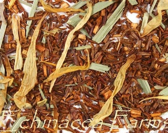 ROOIBOS LEMON Tea * Loose Leaf* 1 oz. African Red Bush All Natural