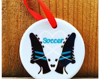 Soccer Ornament Personalized, Soccer Gift, Gifts for Soccer, Soccer, Soccer Gift - Perfect gift for soccer player!