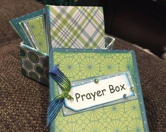 Handmade Prayer Box - 2 Boxes for Only 25 Dollars