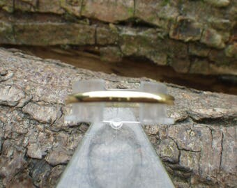 18ct Yellow Gold Wedding Band Ring