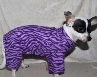 Flannel Cotton Pajamas for Dogs & Cats - Custom made to Measurements