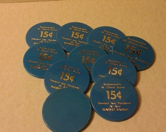 Market Basket 15 cent tokens
