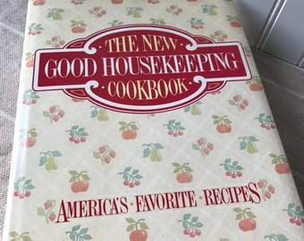 The New Good Housekeeping Cookbook, 1986, Vintage Recipes, Classic American Recipes, Traditional Cooking, Retro Kitchen, Gift for Cook