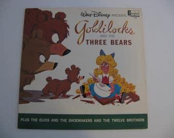 Walt Disney - Goldilocks and the Three Bears - Circa 1963