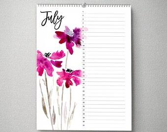Perpetual Birthday Calendar, 11x14, Calendar, cal0047