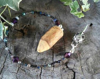 Mother Crone Magnolia Dowsing Pendulum, Divination Pendulum, Dowsing Pendulum, Magnolia, Dowsing, Pendulum, Traditional Witchcraft
