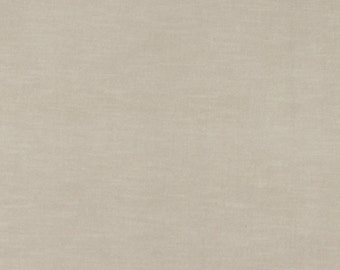 Beige Authentic Cotton Velvet Upholstery Fabric By The Yard | Pattern # A0001D