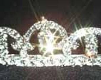 Style # 10842 - Fine Pave European Crystal Tiara