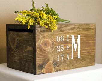 Wedding Card Box, Card Box, Money Box, rustic card box, card box, wood card box, wedding box, wedding card holder, luxury wedding card box