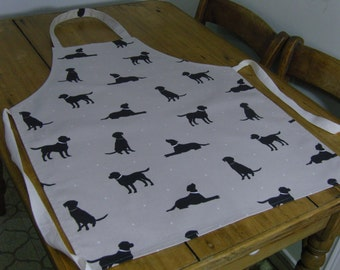 Black Labrador Adult Apron