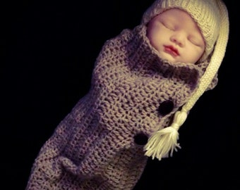 Newborn Baby Cocoon Pattern