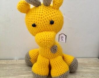 Crochet giraffe - Made to Order
