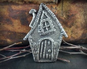 Pendant, Handcrafted, Large Hobbit House, Handmade Jewelry Making Craft Supplies No. 517PD