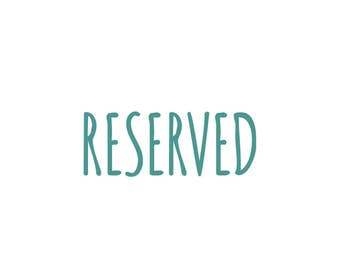 RESERVED - Patterns for DIY toy kits