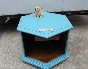Shabby Chic dog bed end table