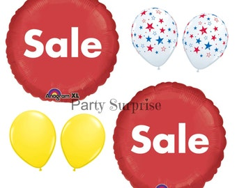 For Sale balloons Store Sale Balloons Shop Sale Balloons Red Sale balloons Craft Fair Artist Fair Bazaar Sale Balloons