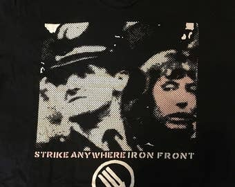 Adult XL Strike Anywhere Iron Front tee