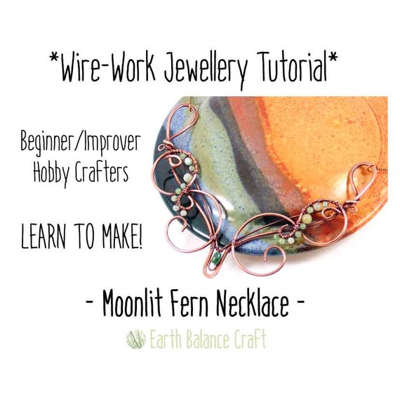 Wire tutorial necklace learn to make jewellery wire wrap for Learn to draw jewelry