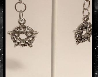 Pentacle earrings | pentagram earrings