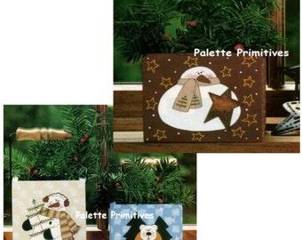 Snow Trio Boxes E-pattern/Instant Download