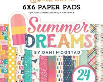 Echo Park - Summer Dreams Collection - 6 x 6 Paper Pad