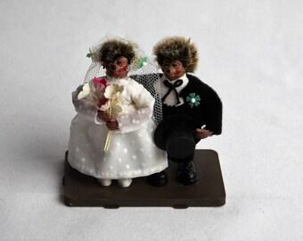 peter figuren. bride and groom