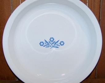 Vintage Corning Ware Blue Cornflower P-309 Pie Plate