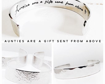 Aunt Gift | Aunt Bracelet | Auntie Gift | Sister Gift | Aunty Gift | Gift ideas for Aunts and Aunties | Godmother Gifts (C020)