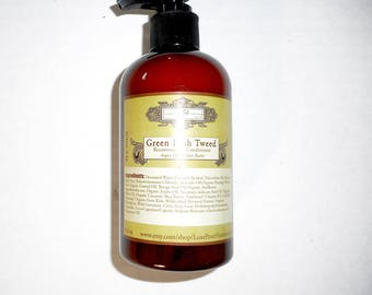 Green Irish Tweed Organic Hair Conditioner for Men - Reconstruction Hair Conditioner Organic Oils and Extracts - 9.3 oz