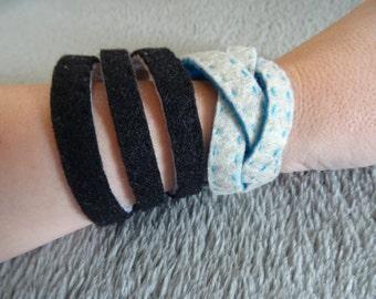 Felt Braided Bracelet