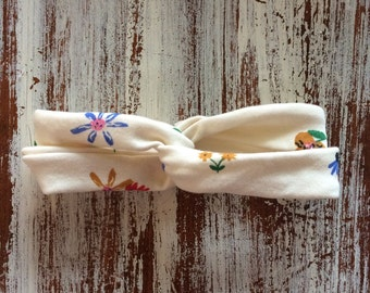 golden afternoon toddler turban headband {ready to ship}