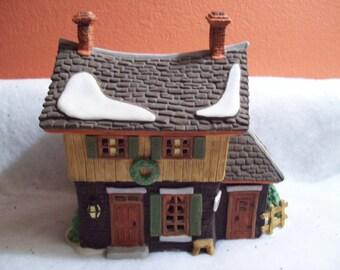 "Vintage Dept. 56 Heritage Village Collection New England Village Series ""Ichabod Crain's Cottage"