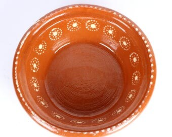 Mexican Redware Bowl