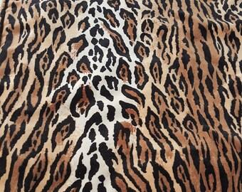 ca. 80 x 50 cm Decke TIGER Feincord