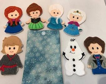 Frozen Finger Puppet Set 2