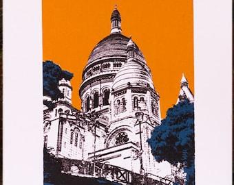 A4 Sacré-Cœur Print
